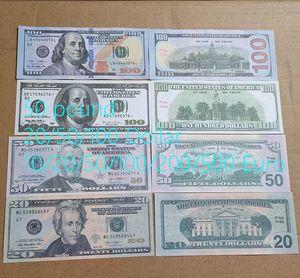 Faux Billet Alta Calidad Venta al por mayor NightClub Bar Pretend 20/50/100 US Fake Money Play Money 100 PCS / Pack