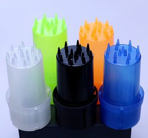 Easy to use light and durable smoke grinder herb grinder plastic aylic grinder crusher tobacco grinders
