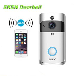 EKEN 2020 منتج جديد Wi-Fi Video Doorbell إنذار Wireless1