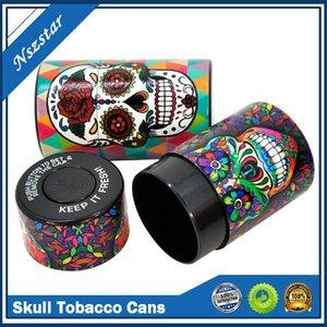 Череп табачный баллончик сигареты для хранения контейнера для хранения 6 стилей влагостойкий банок табачных контейнер для курения аксессуары для курения