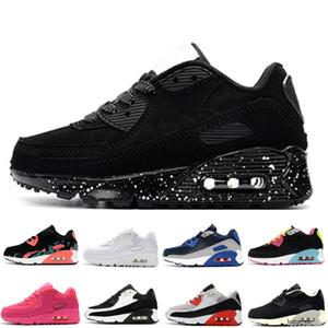 90 2020 nuevos zapatos de los niños del niño del muchacho de los niños clásicos y Gril deporte zapatilla de deporte de baloncesto de tamaño de los zapatos 22-35