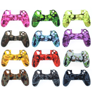 2021 color camouflage Silicone case Camo Silica shell Protective Skin Case For Sony Dualshock 5 PS5 DS5 Pro Slim Controller