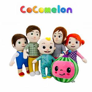 COCOMELON Dolması Peluş Oyuncaklar Bebekler Yumuşak Karikatür Anime Yatma Zamanında Karpuz Peluş Oyuncak JJ Aile Eğitim Çocuklar Hediye Plushie