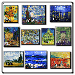 DIY digital oil painting living room study decorative painting solid wood inner frame hand painted oil painting 40*50cm