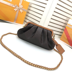 2020 New high quality luxury designer bag Genuine leather BOURSICOT EW tote Boursicot handbag messenger Shopping bags shoulder Bag cloud bag