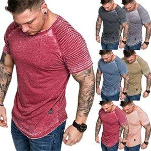 New Hombres Moda Gimnasio Culturismo Casual Entrenamiento Músculo Deporte Camiseta TEE 3XL