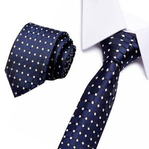 Men ties necktie Men's vestidos wedding tie Male Dress legame gift gravata classic paisley Dot jacquard Flower 8cm width necktie