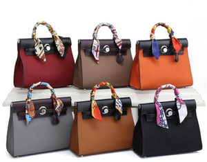 2021 Brand New Arrivals Hot Sales Best-selling Women's Fashion Bags Totes Shoulder Bags Genuine Leather Her H 98831# Free Shipping