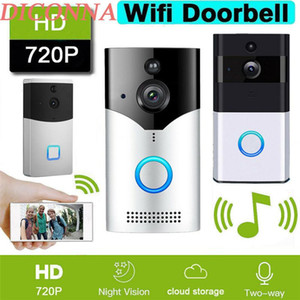 Pymh Smart Video Intercom Беспроводной WiFi Дверной колокольчик IR Visual Camera Record Security System