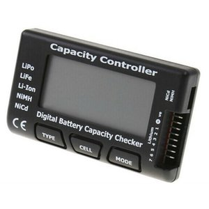 Digital Battery Capacity Checker Battery Function Test Meter Detection Accuracy 0.001V Capacity Controller