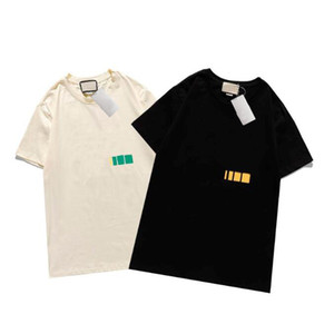 Tasarımcı Erkek Tshirt Yeni Yaz Kısa Kollu Üst Avrupa Amerikan Popüler Baskı T-Shirt Erkekler Kadınlar Çiftler Yüksek Kalite Tee Gömlek S-XXL