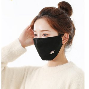 2020 Designer Adjustable masks adult Household models Face-lift dust wind cold cycling breathable warm cotton fabric Reusable face mask