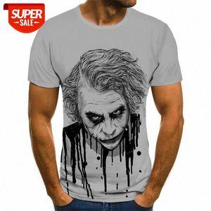 New Funny Clown Jack 3D Graphic T-shirt Hot Casual Men Women 3DT Shirt Harajuku Street Hip Hop Clothing Top 3D T-shirt #od5U