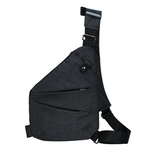 Fashion mens shoulder bag holster Casual Canvas Chest Bag Large Capacity travel nylon Anti Theft Crossbody Bags
