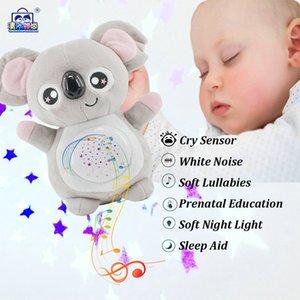 peluche elettrico di sogno della stella del proiettore della lampada bambini atmosfera creativa bambola che dorme