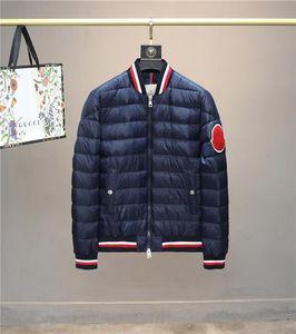 20fw neue Mens Designer Daunenjacke Bomber doudoune Windjacke Mantel Robertos Winter-MENKOU Jacke Top-Qualität