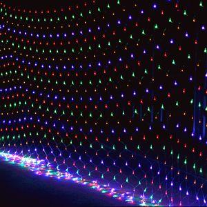 Led Christmas Lights Outdoor Waterproof Lava Lamp Party Wedding Celebration Neon Strip Flash Decorative Lantern Net New 15zn L2