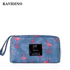 RAVIDINO Многоцветный рисунок косметический мешок повелительницы косметический сумка водонепроницаемый портативный набор моды