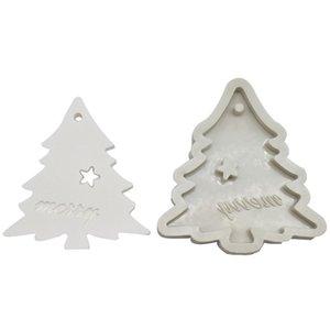 سيليكون قوالب خبز ل diy ندفة الثلج شجرة عيد الميلاد شنقا الخبز أداة أطفال المفاتيح العطور سيارة قلادة كعكة الديكور GWD4958