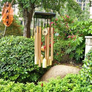 Windspiele Ornamente Yard Metal Tuben Glocken Garten Dekorationen Zimmer Dekor Geschenk Home Balkon Hängen Große Glocken