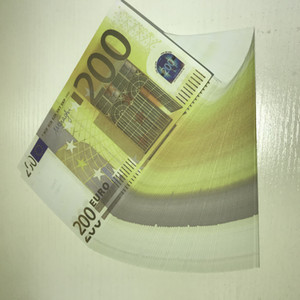 Atmosphere Party Bar LE200-26 Euro 200 Atmosphere Prop Billet Counterfeit Lgwgd Money Stage New Billet Bar Faux Qeuof