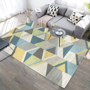 Home Decor Rugs For BedroomThick Soft Carpet Kids Room Carpets For Living Room Sofa Coffee Table Floor Mat Modern Geometric1