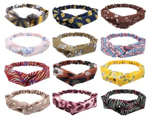 Free Delivery New hair band versatile fashion pressure hair cover lovely out of the cross hair band to wear 10pcs lot