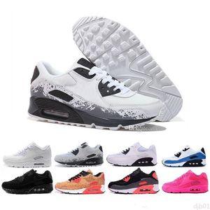 2020 Ivory 90 Mens Running Shoes Be True Mixtape Triple black White Men women Classic Yellow red Sports Trainer Cushion Surface36-45 dj1