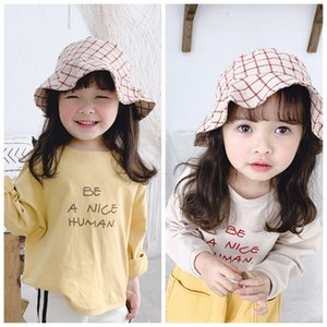2020 children's autumn new products girls Korean printed long sleeve T-shirt
