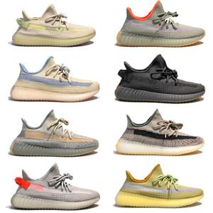 Designer Männer Frauen Schuhe Kanye West Läufer Laufen Turnschuhe Wolke Weiße Hyperspace Glow Zebra Reflektierende Basketball-Trainer US13