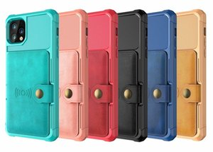Leather Case For iPhone 11 12 Mini Pro XS XR Max Magnetic Flip Phone Case S9 S10 Plus Wallet Cover