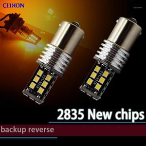 2PCS 1156 Ba15s P21w Bau15s 15 SMD LED Bulbs 7506 1141 Auto Braking Reverse Lamp T20 7440 7443 Turn Signal Light Ciihon1