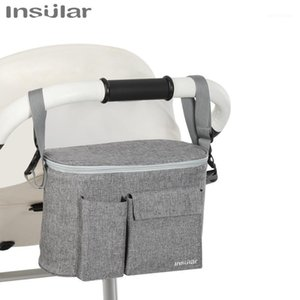 Baby Stroller Bag Stroller Accessories Organizer Cup Holder Cover Baby By Winter Pouch Bottle Storage Bag1