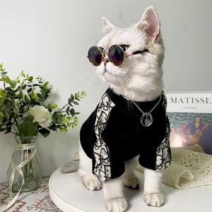 Малый собак Pet Модный Одежда Тедди Cokey Schnauer Fab Cat Осень Зима свитер 710K
