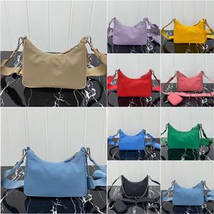 Лучшие продажи дизайнеров hobo нейлоновые сумки сумки мода сумка сумочка люкс кошелек седло сумки три куска комбинированные сумки