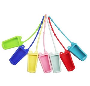 hand sanitizer bottle holder 30ml travel size portable soft silicone cover with keychain hand soap bottle bag