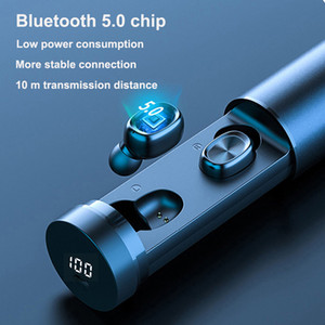 Hot B9 TWS Bluetooth Earphones Wireless Earphone 8D HIFI Sport With MIC Earbuds Gaming Music Headset