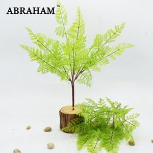 45 centimetri 7fork Falso plastica foglie di palma reale di tocco Bouquet pianta artificiale Branch False bonsai Fern Erba per la decorazione domestica Tilg #