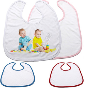 Мода DIY Heat Subbitimation Bule Baby Bib платок для термической передачи Пресс-машина Шарф Saliva Полотенца Burp Скатерет D102905