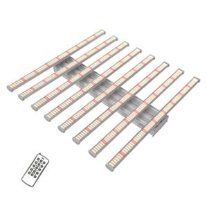 Geekbeast Pro 8Bars 640 W 600 W Işık Kurulu Büyümek LM2835 Anahtarı Kısılabilir LED Hidroponik Aria için Işık Büyümek Işık Büyümeleri
