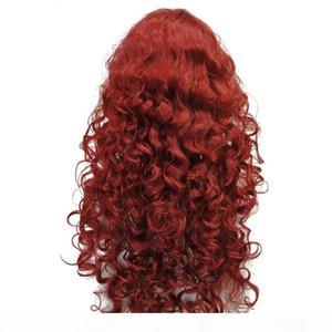 WhoLSe нет плохого запаха ECOFIRENDLYLONG Кудрявый парик женские синтетические парики волос Turecolor WIGTURECOLOR парик