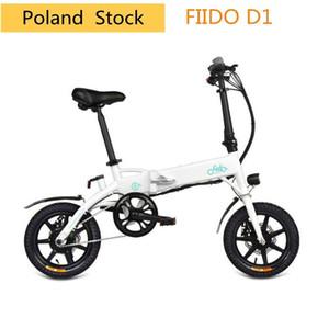 FIIDO D1 Folding Electric Moped Bike Three Riding Modes 10.4AH Ebike 250W Motor 25km h 25-40KM Range Electric Bicycle Poland Stock!