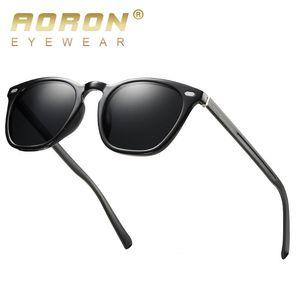 AORON Aluminium Magnesium Leg polarisierte Klassische Mode-Glas-Sonnenbrille Männer / Frauen TR Rahmen UV400 581