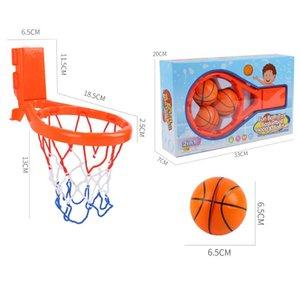 Малыша Ванна Игрушки Детского баскетбол Хооп Ванна вода Play Набор для Baby Girl Boy с 3 Balls два фиксированными способами jllwWx ly_bags