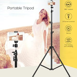 Portable Live Tripod Ring Light Bracket For Phone for Youtube Makeup Camera DSLR Stick Stand Monopod Cam Box Photo Holder Tripod