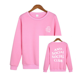 Fashion autumn and winter new fleece round neck sweater multi-color optional printing college style pullover warm hoodie