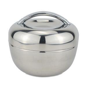 SANQIA 1.3L Apple Form Chermal Изоляция из нержавеющей стали обед коробка Bento еда контейнер еда хранение Tiffin Box Dianceware Set Y0120