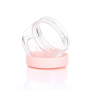 Plastic Wax Containers Box Empty 10g 15g 20g Travel Small Jar Case Cosmetic Pot With Lid Face Cream Lip Balm Container Jars GGE1718