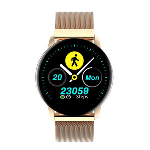 Q20 Smart Watch Blood Pressure Heart Rate Female Physiological Monitor 1.22inch Color Screen Smartwatch Bracelet Fitness