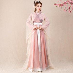 2020 Frauen Hanfu Kleid alte Han-Dynastie Prinzessin Kleid weiblich Sommer im chinesischen Stil Fairy Rock Girl Hanfu Zeitskleidung SL4143